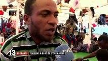 """Migrants : situation """"explosive"""" à bord de l'""""Open Arms"""" bloqué aux portes de Lampedusa"""