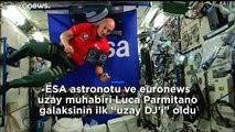 Astronot DJ Luca Parmitano'nun uzaydan çaldığı şarkılarla Ibiza'da gençler dans etti