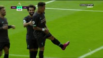 Premier League - Le but de Firmino pour Liverpool