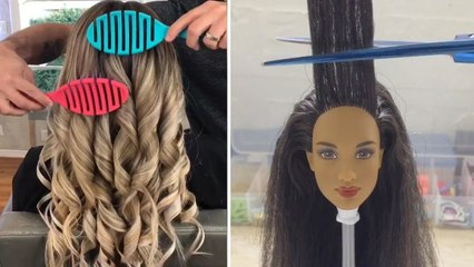 VIRAL HAIR AND HAIRSTYLE HACKS ON INSTAGRAM  AMAZING HAIRSTYLES TUTORIALS PART 3