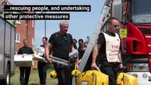 Fire and rescue video