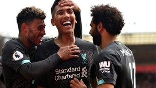 Mane ve Firmino Liverpool'a galibiyeti getirdi!