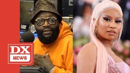 Rick Ross Responds To Nicki Minaj's