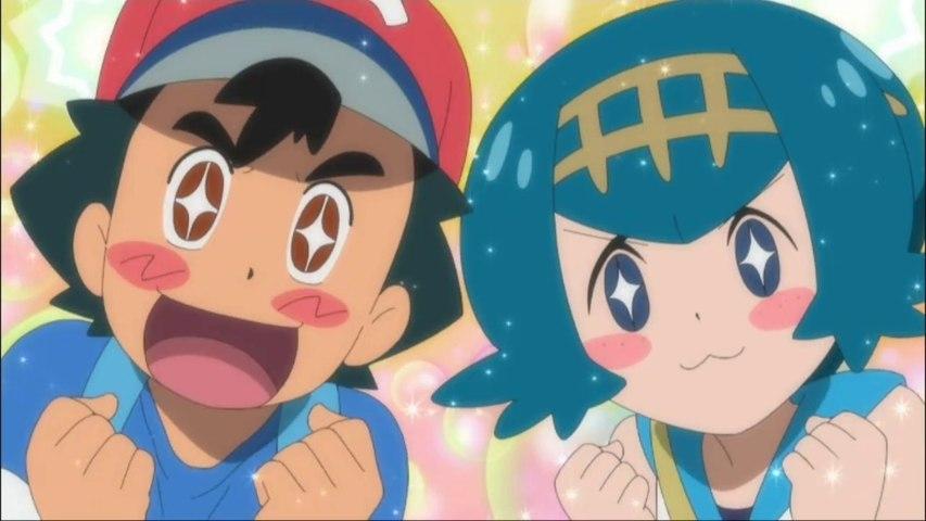 Pokemon Sun & Moon Ultra Legends Episode 25 DUB (Drawn with the Wind!) HD