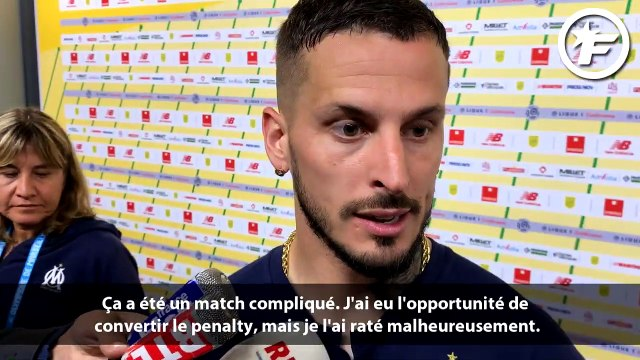 Benedetto evoque son penalty raté