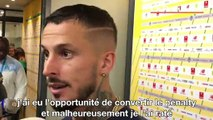 """Nantes-OM - Benedetto ne s'attendait pas à tirer le penalty : """"Ça m'a surpris"""""""