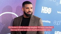 Drake Becomes First Solo Artist to Break 200 Appearances on the 'Billboard' Hot 100