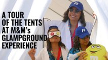 Tour the Tents at the M&Ms Glampground
