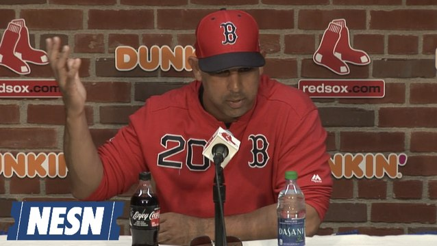 Alex Cora On The Red Sox Focus In The AL Wild Card Race