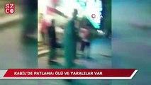Kabil'de patlama: ölü ve yaralılar var
