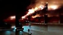 Antalya'daki antik kentte yangın çıktı!