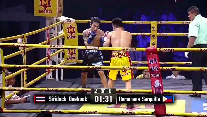Siridech Deebook vs Romshane Sarguilla (17-08-2019) Full Fight