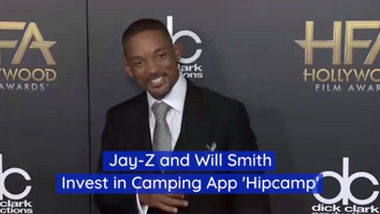 Celebrities Invest In A Camping App
