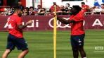 Bayern - Pour le fun, Lucas Hernandez fait le nerveux à l'entraînement