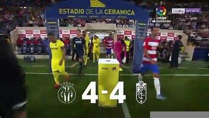 LaLiga 19/20 Match Highlights: Villarreal 4-4 Granada