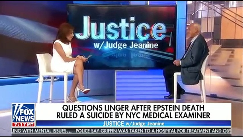Justice With Judge Jeanine Fox News 8-17-19 - Jeanine Pirro August 17, 2019