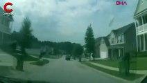 ABD'de banka soyguncuları polise böyle ateş açtı