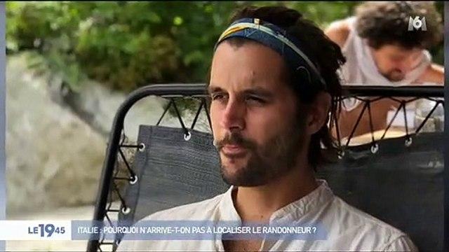 Italie : Pourquoi les secours n'arrivent pas à localiser le jeune Français Simon Gautier porté disparu depuis une semaine ? - VIDEO