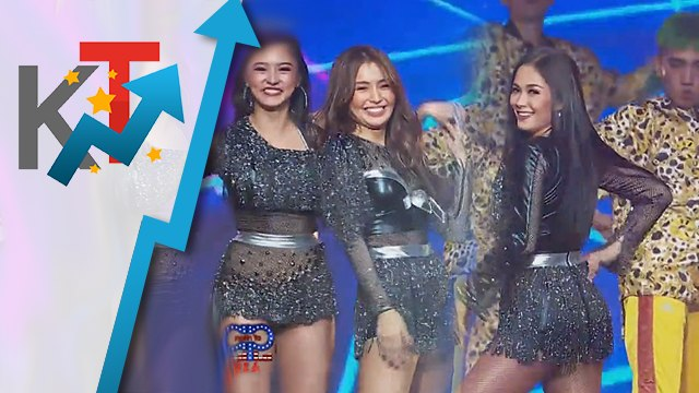 Maja, Kim and Kathryn dance to Billboard chart-toppers