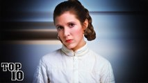 Top 10 Facts About Carrie Fisher