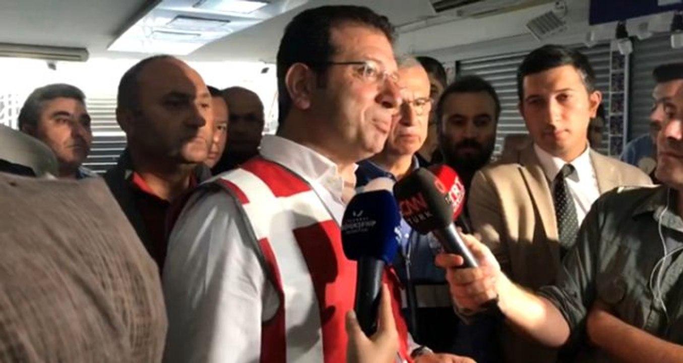İstanbul'daki sel felaketinin ardından Ekrem İmamoğlu'ndan açıklama ile ilgili görsel sonucu