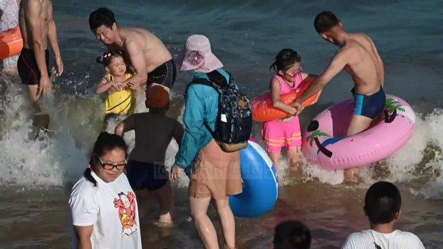 Kinezët në det, të gjithë me komerdare -Top Channel Albania - News - Lajme