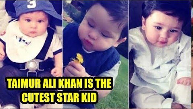 Taimur Ali Khan is the cutest star kid of Bollywood industry