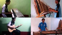 """""""Anoman Obong"""" -  Musical instrument collaboration """"Angklung"""" with modern musical instruments - Single Player"""