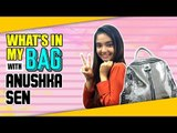 Exclusive: What's in my bag with Anushka Sen