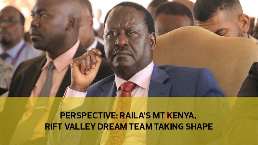 Raila's Mt Kenya, Rift Valley dream team takes shape