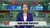 Hong Kong protesters rally despite ban on march