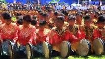 2019 صبيا يشاركون في رقصة جماعية احتفالا بذكرى استقلال إندونيسيا