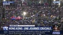 Hong Kong: les manifestants pro-démocratie nombreux et toujours mobilisés