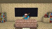 HORROR! Minecraft Monster School Animation!