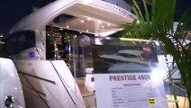 2019 Prestige 460 S Luxury Yacht - Deck and Interior Walkaround - 2018 Fort Lauderdale Boat Show