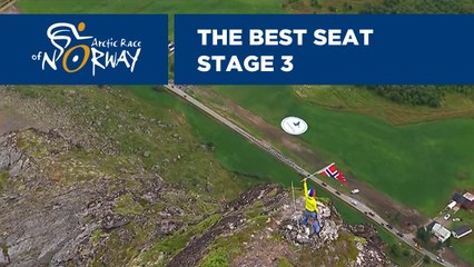 The best seat - Stage 3 - Arctic Race of Norway 2019