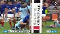 Rugby : la France rassure et bat l'Écosse en préparation de la Coupe du monde