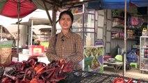 الجرذان المشوية وجبة تزداد رواجا في كمبوديا