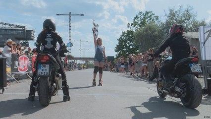 مهرجان سائقات الدراجات النارية في فيروبوليس