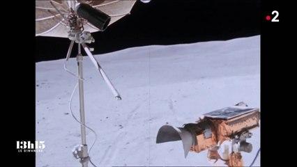 """Apollo 17 : """"Je pose le dernier pas de l'homme sur la Lune"""", déclarait l'astronaute Eugene Cernan en 1972"""