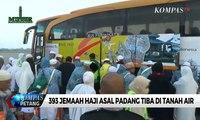 393 Jemaah Haji Asal Padang Tiba di Tanah Air