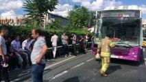 D-100 Karayolu Çağlayan mevkiinde seyir halindeki bir halk otobüsü önündeki bir kamyona çarptı. Kazada ilk belirlemelere göre 1 kişi yaralanırken Edirne istikametinde trafik yoğunluğu oluştu.