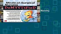 [MOST WISHED]  Medical-Surgical Nursing Demystified, Third Edition