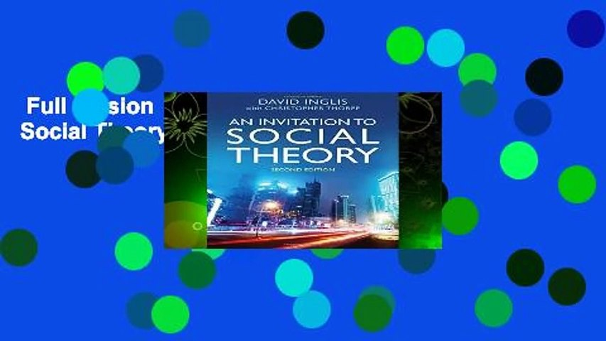 Full version  An Invitation to Social Theory  Review