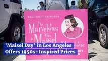 Amazon Holds A 'Maisel Day' In LA