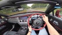 ROLLS ROYCE DAWN - Black Badge - 600HP 6.6 V12 POV Test Drive by AutoTopNL