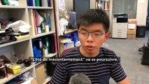 Hong Kong : le militant pro-démocratie Joshua Wong