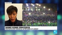 Hong Kong protests: 'We are not divided,' says activist and singer Denise Ho