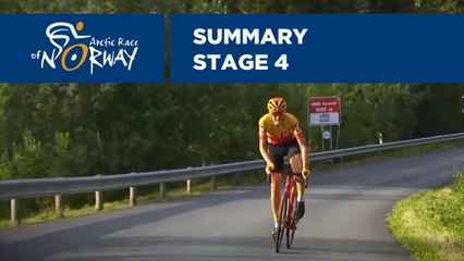 Summary - Stage 4 - Arctic Race of Norway 2019