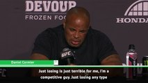 Losing is terrible - Cormier contemplates retiring